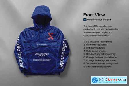 Windbreaker Jacket - Mockup Bundle 5346858