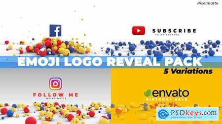 Emoji Logo Reveal Pack 28202745