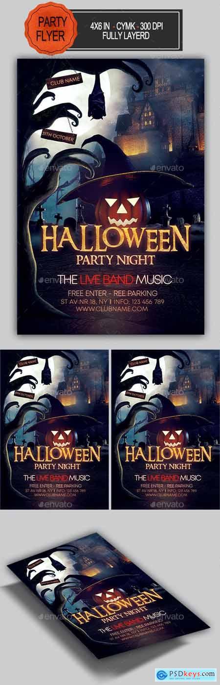 Halloween Flyer 28586997