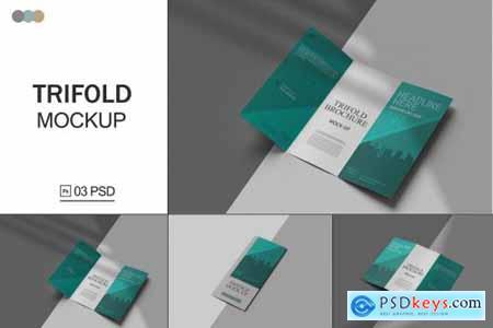 Trifold Brochure Mockup V.2