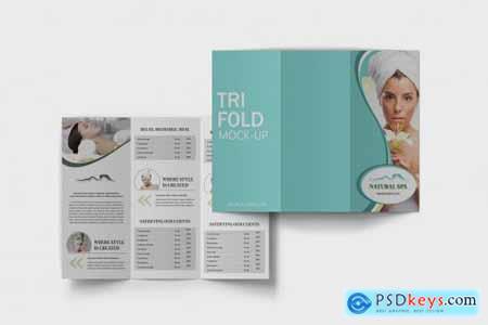 Trifold Brochure Mockup V.3