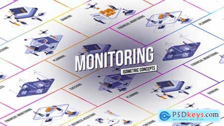 Monitoring - Isometric Concept 28986926