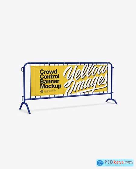 Crowd Control Banner Mockup 68665