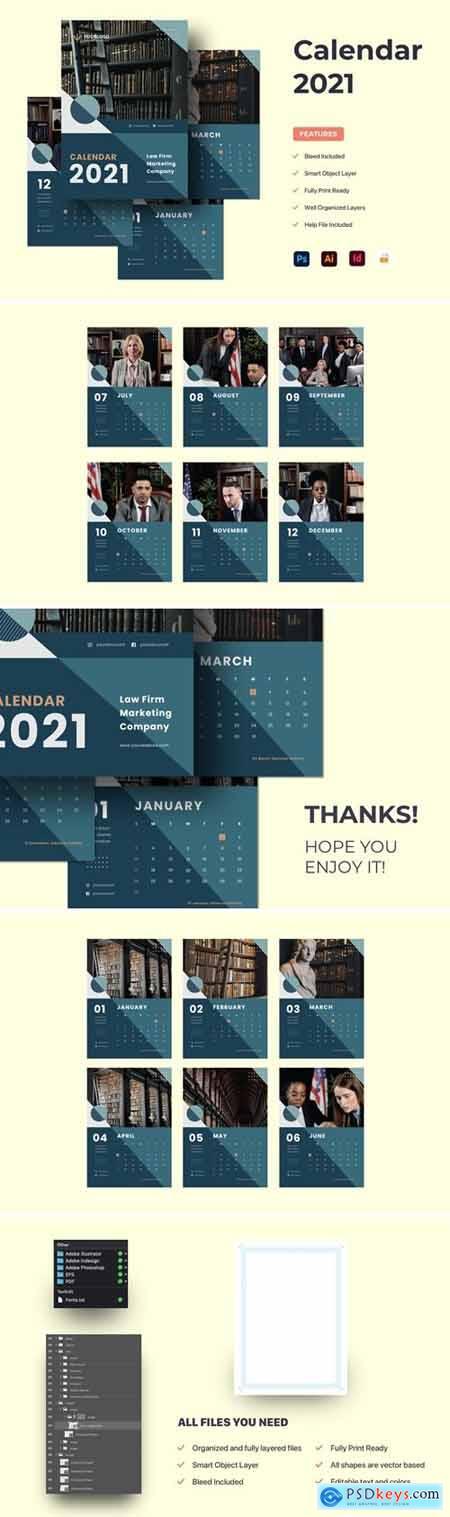 Calendar 2021 SP4ZRF9