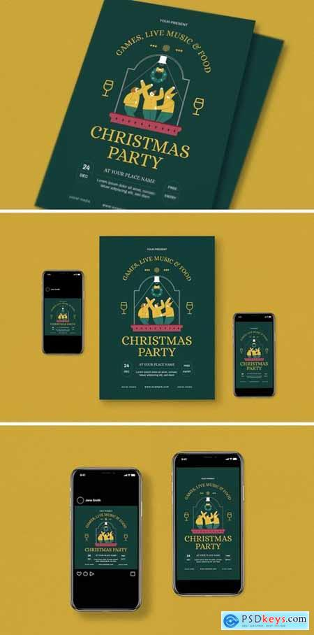 Christmas Party Flyer Pack