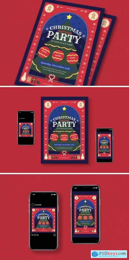 Christmas Party Flyer Pack658