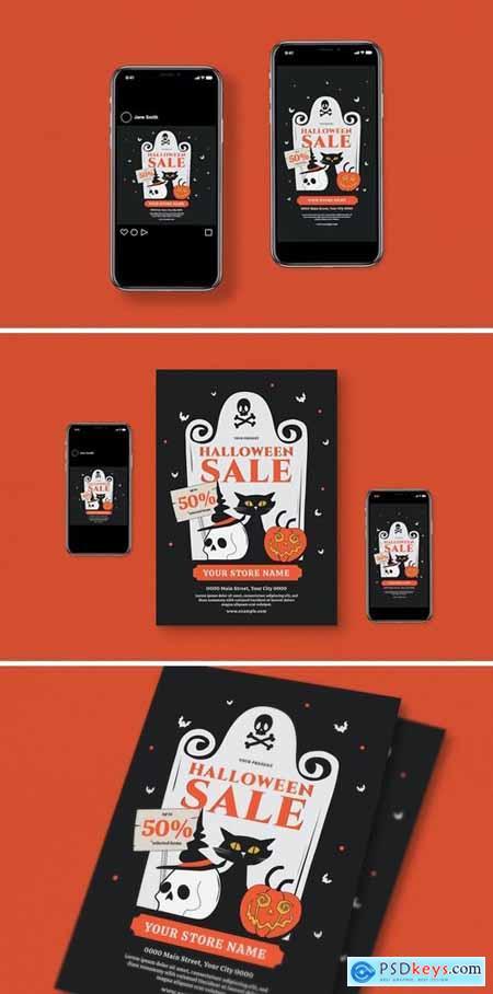 Halloween Flyer Pack