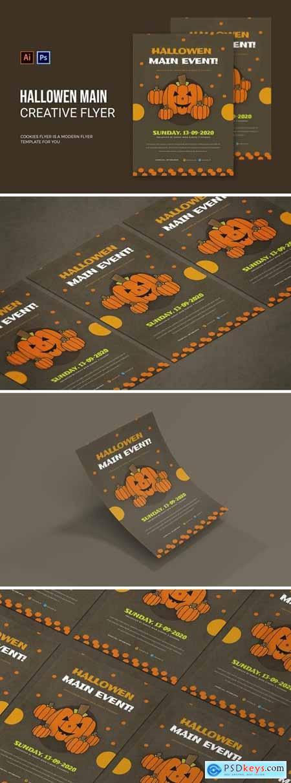 Hallowen Main Event - Flyer