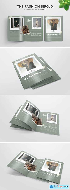 Fashion Boutique - Bifold Brochure
