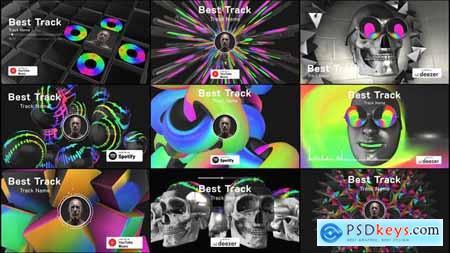 3D Music Visualizer 25233406