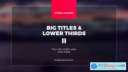 Big Titles & Lower Thirds II 21951929