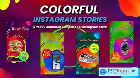 Colorful Instagram Stories 28334317