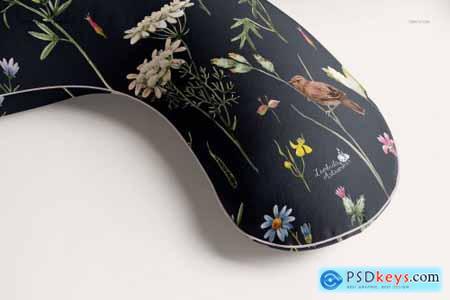 Pregnancy Pillow Mockup Set 5265148