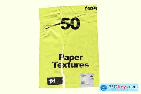 Wrinkle Paper Mockup Vintage 5399468