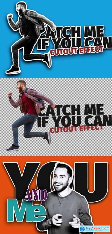 Cutout Image Effect Mockup 387205483