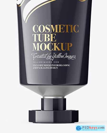 Glossy Cosmetic Tube With Octagonal 68643