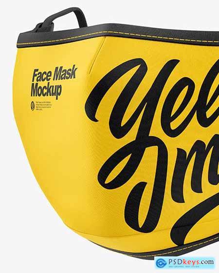 Face Mask Mockup 68750
