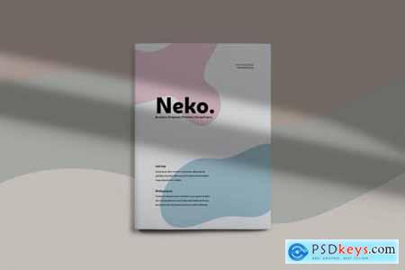 Neko - Brochure Template