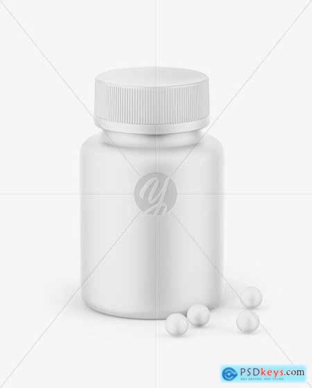 Matte Bottle Mockup 68569