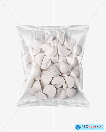 Plastic Bag With Dumplings Mockup 68769