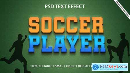 Text style effect template