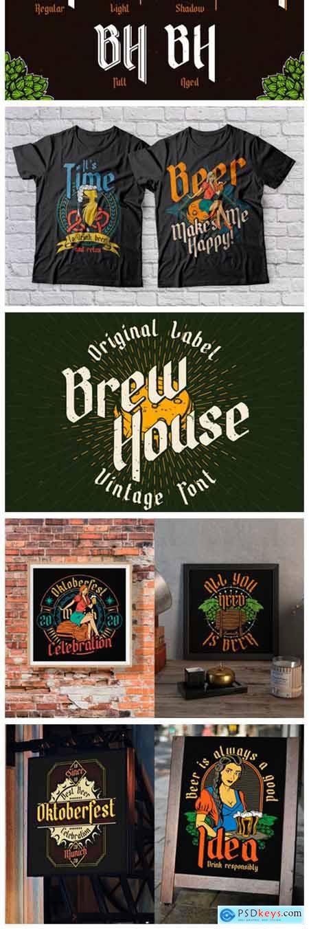 Brew House Font