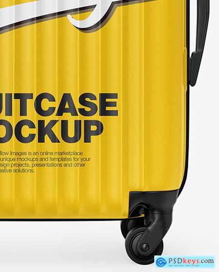 Travel Suitcase Mockup 68751