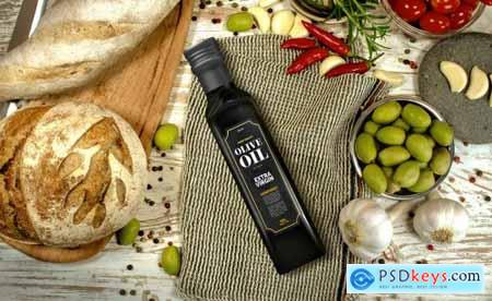 Olive Oil Package Mockup Vol 2