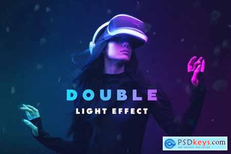 Double Light Photoshop Effect 4974274