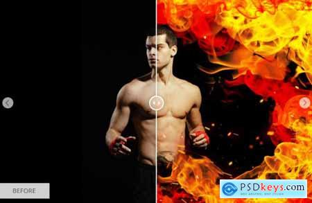 Fire Actions Photoshop 5328474