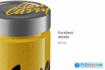Sauce Curry Jar Mockup 4943354