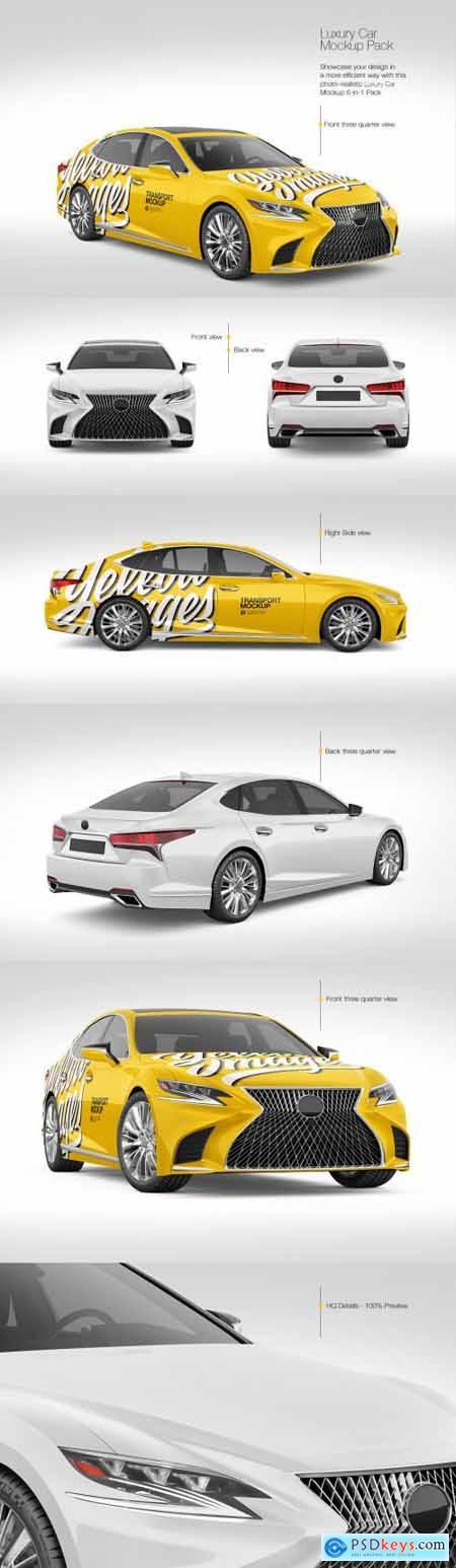Luxury Car Mockup Pack 69766