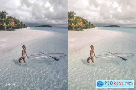 Lightroom Preset-Maldives Ocean 4973275