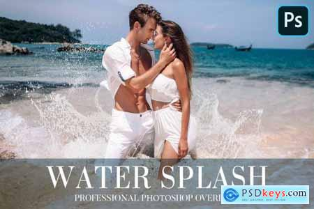 Water Splash Overlays Photoshop 4943549
