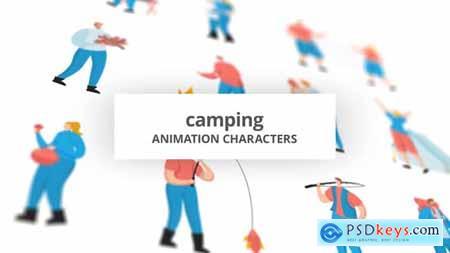 Camping - Character Set 29102352