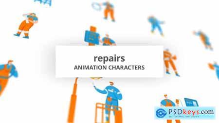 Repairs - Character Set 29102506