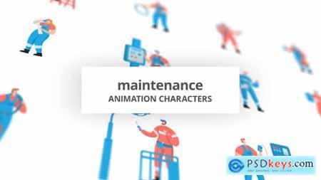 Maintenance - Character Set 29102375