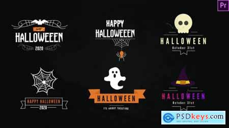 Halloween Titles Pack-Premiere Pro 28858249
