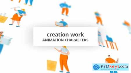 Creation work - Character Set 29102486