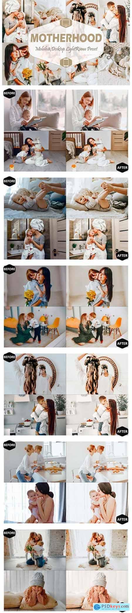 10 Motherhood Mobile Lightroom Presets 5916604