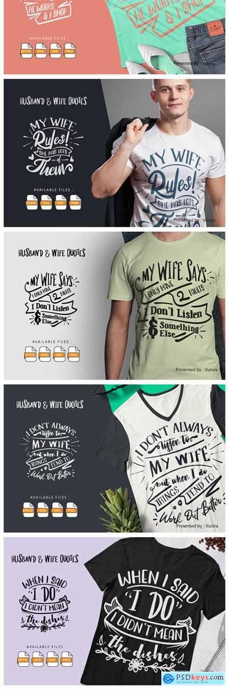 10 Husband & Wife - Lettering Quotes 6267485