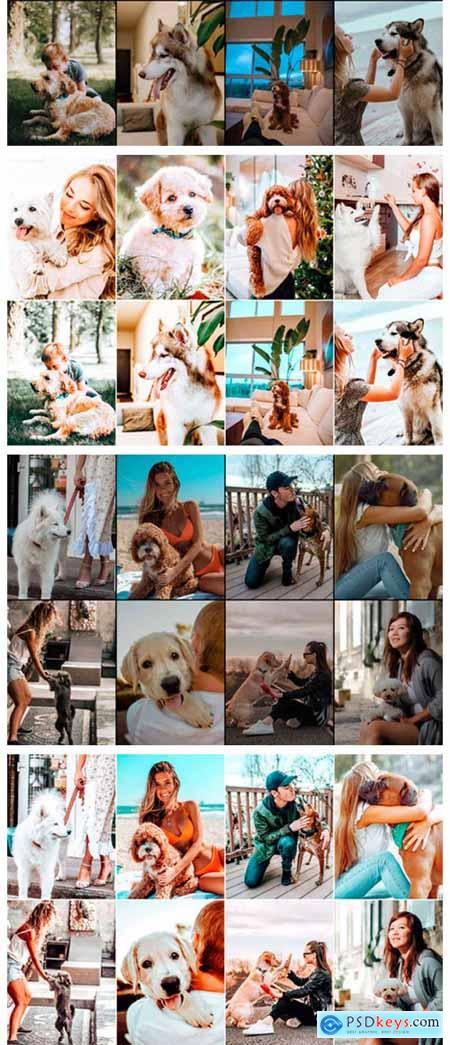 10 Pet and I Photoshop Actions Ps Preset 5916916