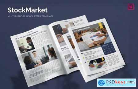 Stock Market Info - Newsletter Template