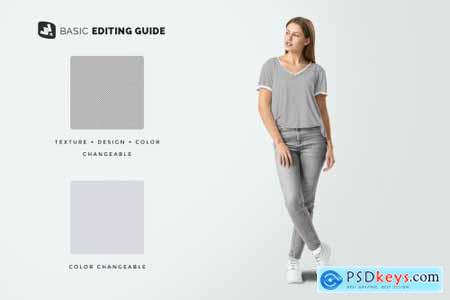 Casual Outfit With Female Model 4743994