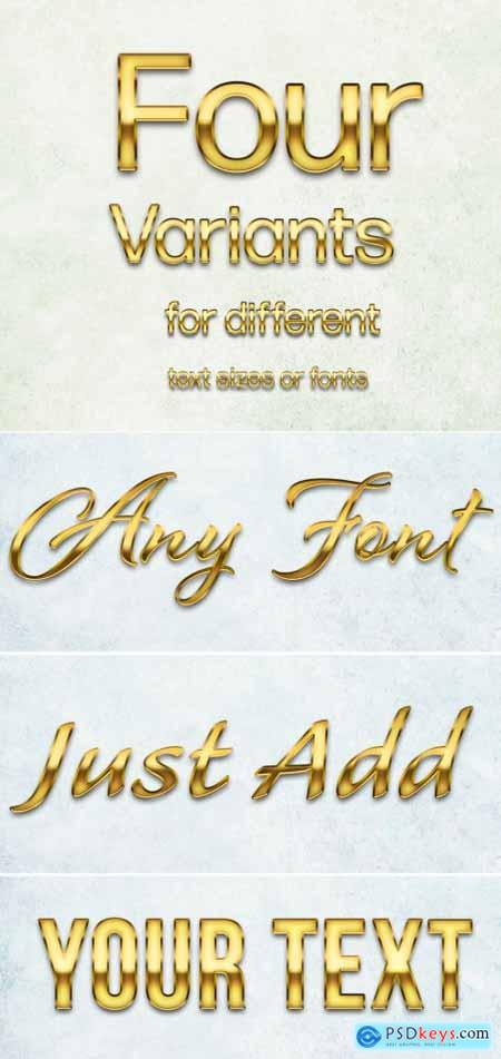 Golden Text Effect 388824294
