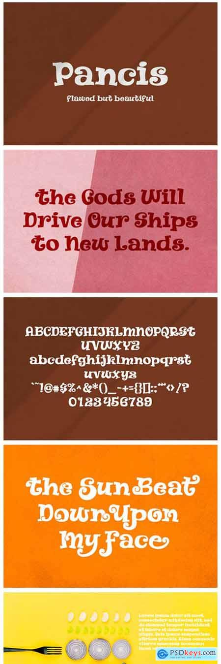 Pancis Font