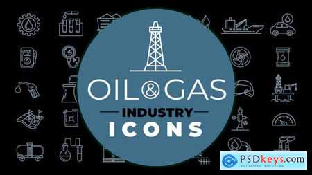 Oil & Gas Industry Icons 28463298