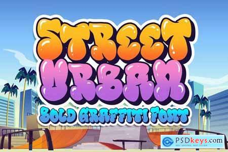 Download Street Urban Graffiti Font » Free Download Photoshop ...