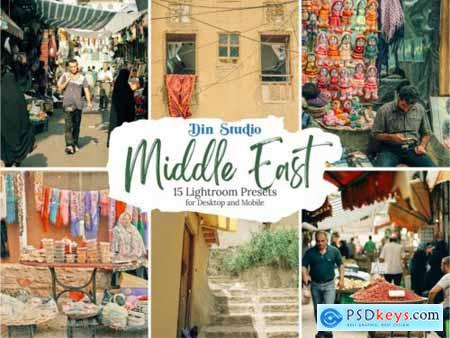 Middle East Lightroom Presets 5555468