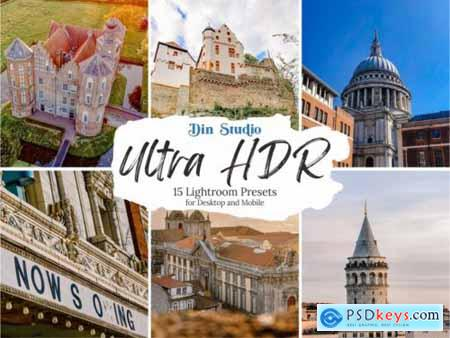 Ultra HDR Lightroom Presets 5555529